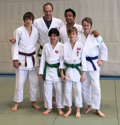 Sergei Judo Camp Usagi 2018